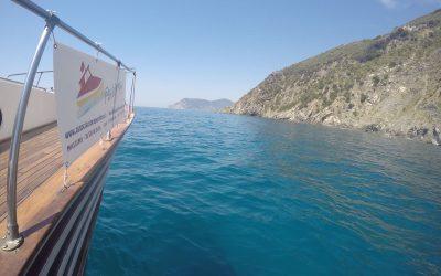Una splendida uscita in barca alle Cinque Terre