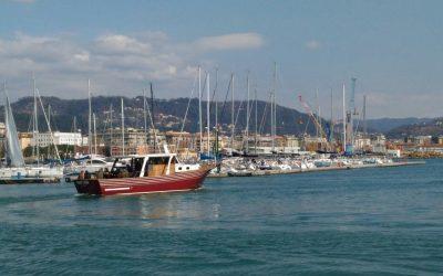 La prima uscita didattica di avvistamento cetacei alla Spezia nel 2018